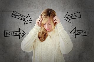 精神的ストレスが表情のシワを作る!
